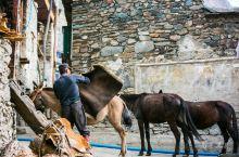 5月正是农忙季节,清晨的阳光洒进俄亚时,纳西人的骡马开始陆续走出大村,山寨里马铃声此起彼伏。大村通了