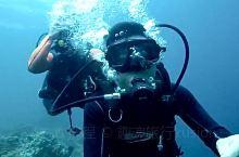 人生第一次潜水!!激动哈哈