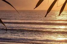 早起的你在地铁上?早起的昆昆,在阳光海岸 (Sunshine Coast) 的晨曦里,在波光粼粼的海