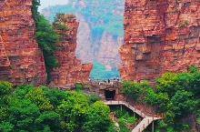 东太行南天门:天然形成,雄踞东麓,护守太行山
