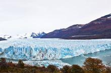红叶与冰川相映——梦幻阿根廷湖