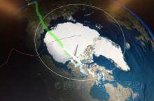飞越北冰洋的震撼体验