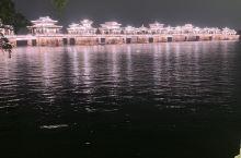 潮州广济桥夜景