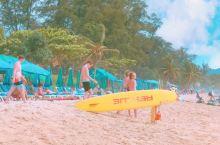普吉岛上的芭东海滩好玩的不得了!