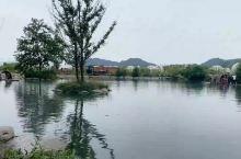 距离成都1h车程的避暑胜地,有山有水可以玩水划船,美的像一幅画