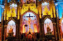 蒙特利尔的小巴黎圣母院 蒙特利尔圣母大教堂