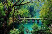 贵州最美风景 小七孔打卡