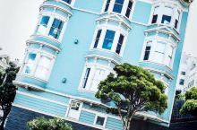旧金山阿拉莫广场 逼死强迫症的房子