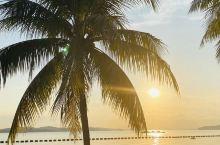 美好的早晨,海边日出…