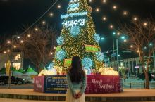 在首尔从11月开始的圣诞节