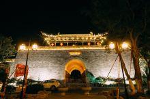 安徽天长崇本门,在这里可以俯瞰城市美景