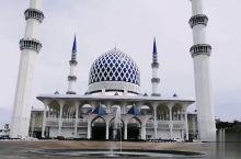 蓝色清真寺|马来西亚最大的清真寺