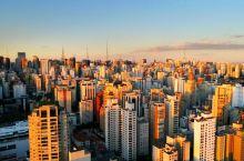 航拍圣保罗,南美洲第一大城市,全球排名比广州深圳还高!