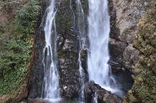 井冈山的水口彩虹瀑布必须在有阳光的上午去。