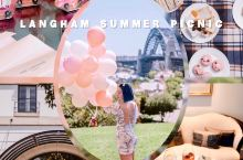 《朗廷小粉车悉尼市区游夏日野餐》  感谢 悉尼朗廷酒店(The Langham Sydney) 邀请