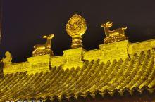 五台山网红寺庙—广化寺夜景