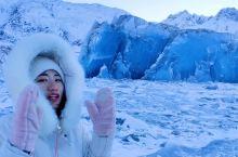 你见过蓝色的冰么?现实版冰雪奇缘
