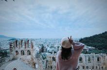 希腊卫城  这里特别有文化气息 太阳神、古罗马、各种神话故事的起源 很多外国人到这里旅行 希腊是发达