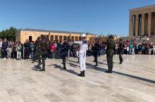 土耳其士兵换岗仪式