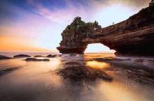 醉美的巴厘岛黄昏。 