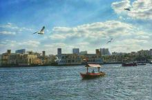 迪拜河风光