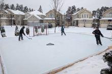 社区冰球比赛