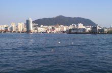 釜山的海边