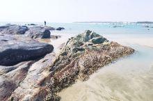 名气不大的吉兆湾,超有意境。见到了彩色的岩石,斑驳的沙滩,碧绿的海水,美得一塌糊涂!