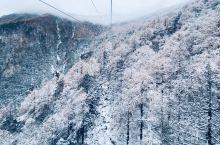 太白山索道,极致风景