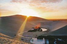 鸣沙山月牙泉|荒漠中一滴眼泪