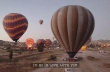 卡帕多奇亚的热气球世界上最浪漫的日出