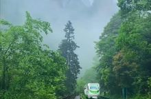 雨中的十里画廊,美如仙境
