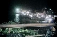 晚上的庙子湖灯光风景