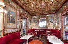 意大利威尼斯圣马可广场上 开了300年的花神咖啡 莫奈、安迪·沃霍尔、卓别林、海明威 都曾是是这里的