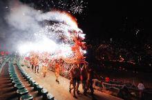 广东梅州非遗大戏,看300年历史的烧火龙