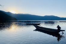 云南丽江泸沽湖之女神湾