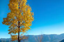 泸沽湖-湖天一色