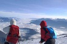 漫步云端,哈巴雪山,让洁白的雪洗涤心灵