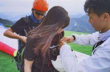 莫干山也能玩滑翔伞啦~