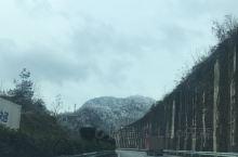 冬天的贵州高速