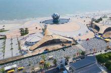 广西北海银滩,拍照打卡