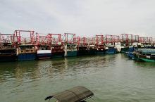 #北海怎么玩 北海侨港的内港其实是个半岛,有条环岛路,渔货交易市场就在环岛路边,我沿着环岛路绕岛走,