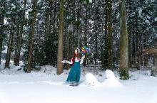 一起去去龙池湖玩雪