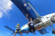 广东惠州4000米高空跳伞