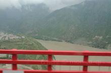 四川西部,大渡河悬索桥