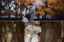 中国最美胡杨林旅拍婚纱照,来自千年的守候