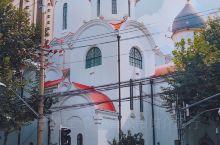 """上海旅行·新乐路86岁""""洋葱头""""东正教堂"""