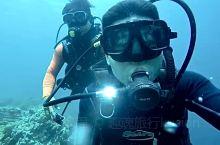 第一次潜水还是很兴奋的