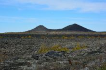 老黑山边上的火海遗迹。