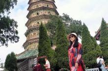 我国著名的古塔飞虹塔